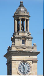 The Huron County of Ohio Common Pleas Courthouse Tower